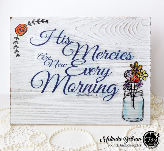 Making Clear Stickers Using Your Joy Clair Stamps