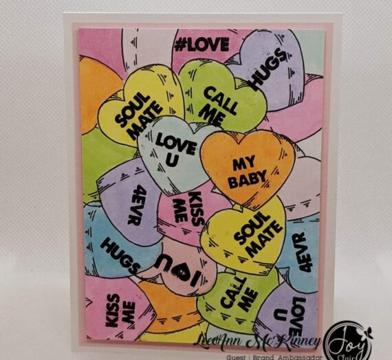 Valentine's Cards Using Joy Clair