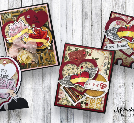 Quick and Easy Cards With Joy Clair Stamps