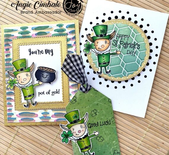 "Joy Clair's ""Lucky Charm"" St. Patrick's Day Projects"
