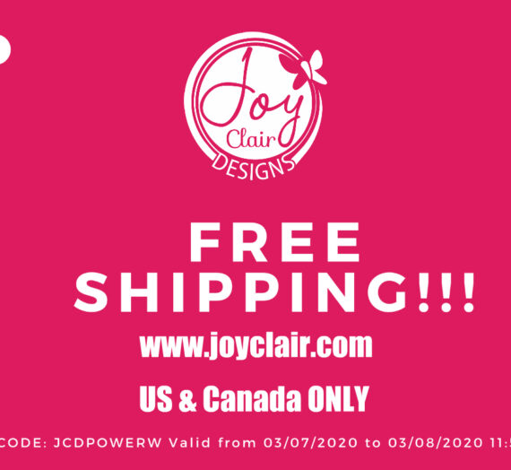 We have free shipping!