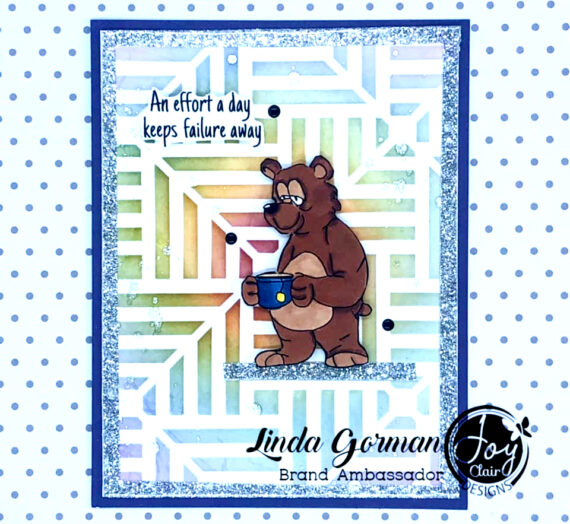 Coffee Stamped Card with Joy Clair