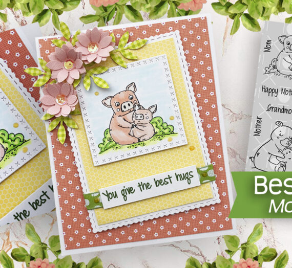 Easy DIY Mother's Day Card with Joy Clair Designs