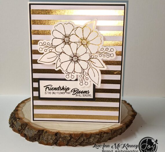 Easy Foiling Friendship Card