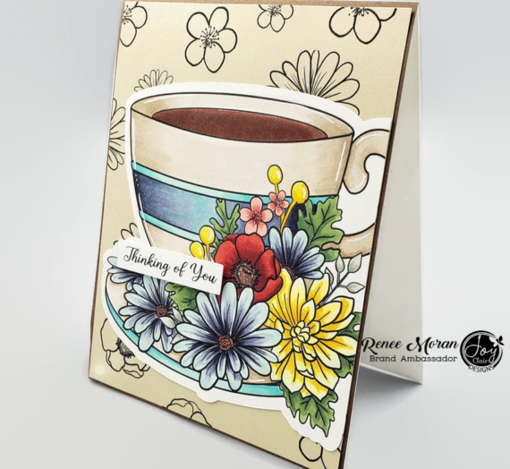 Coloring Video Tutorial with Cup of Joy