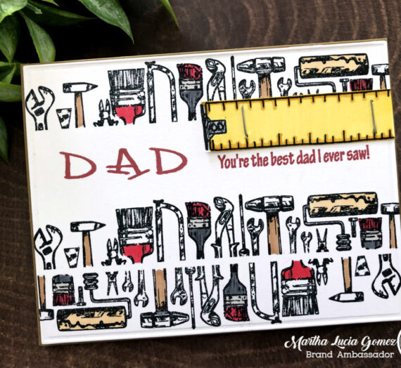 Let's Made an Easy Masculine Stamped Cards