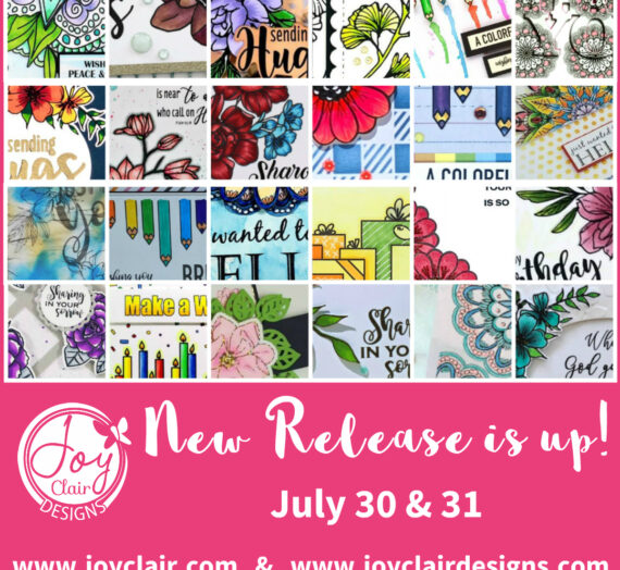 August New Release of Stamps!