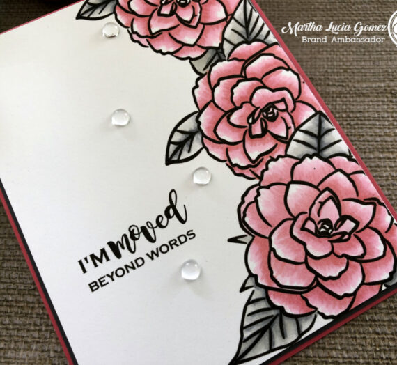 Easy coloring with digital stamps