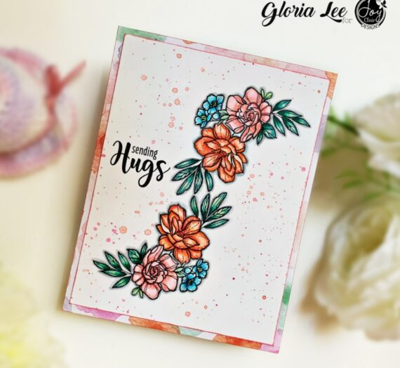 Floral Friendship digital stamp set
