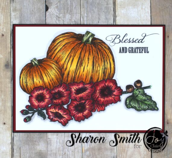 Blessed and Grateful – Coloring Pumpkins