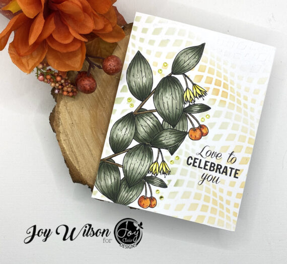 Creating a Masculine Anniversary Card