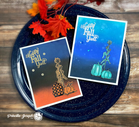 Fall Cards with a Touch of the Unexpected