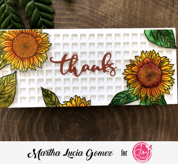 Thankful for you Stamped Cards