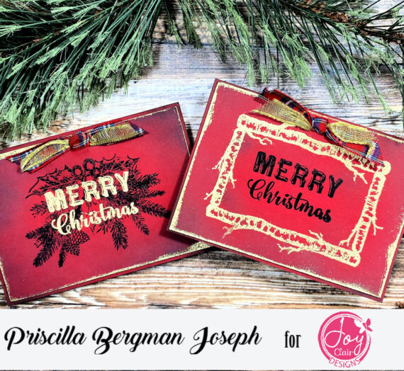 Christmas Tags with a Rustic Feel
