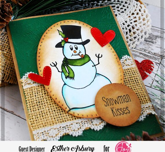 Winter Card with Esther Asbury