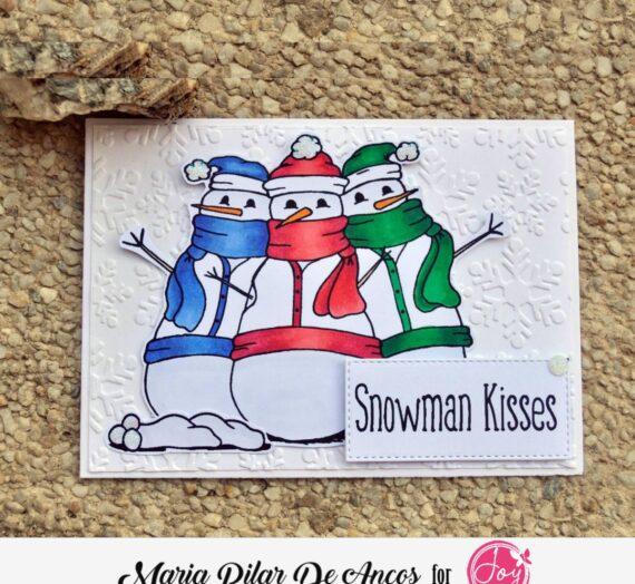 Snowy Greetings Digital Stamp