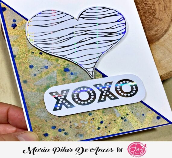 Full Heart card with foil