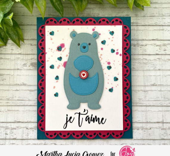 Easy crafting with Joy Clair Designs