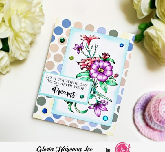 Flower card for friendship