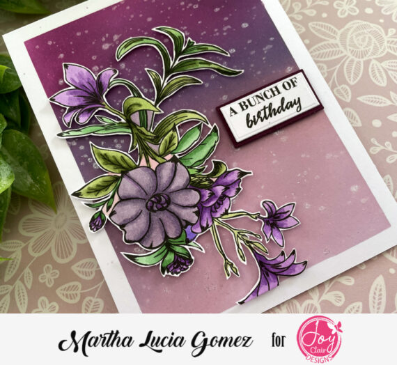Floral Friendship Colored Card