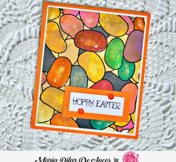 Easter Card with background