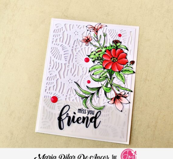 Forever Friends card with dies