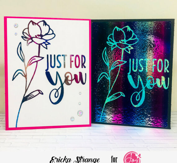 Foiling Fun with Florals
