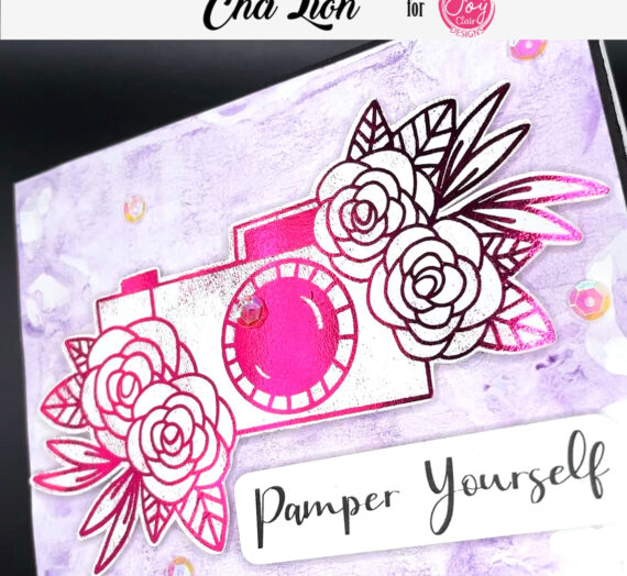 Pamper Yourself Foiling Card