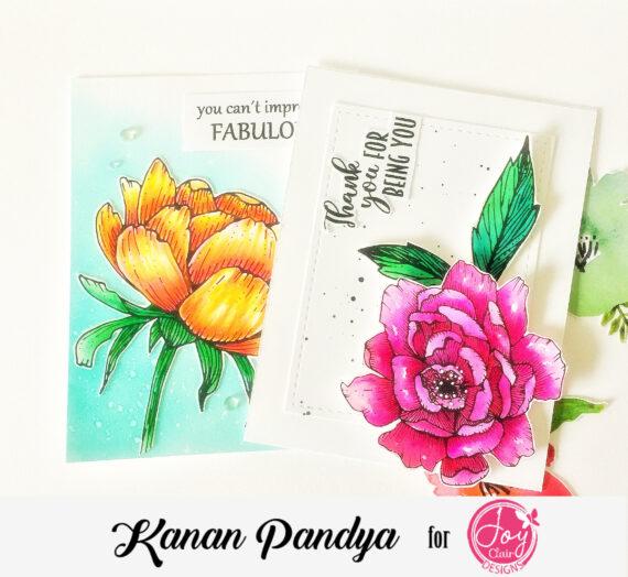 Spring Rose Stamped Cards!!