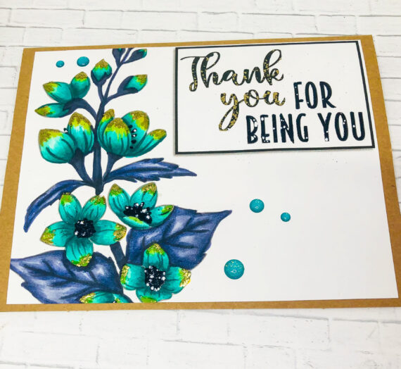 Forever Moments Thank You Card